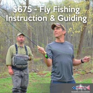 $675 - Fly Fishing Instruction & Guiding