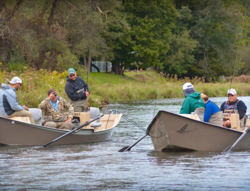 RoR Partners with Trout Unlimited Chapter to Host Combat Veterans