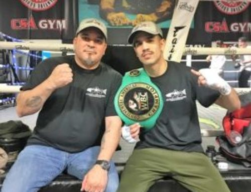 Boxing Champ Fights for Combat Veterans