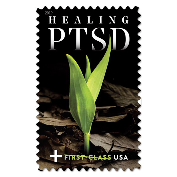 Healing PTSD Stamp Raises Money for Veterans